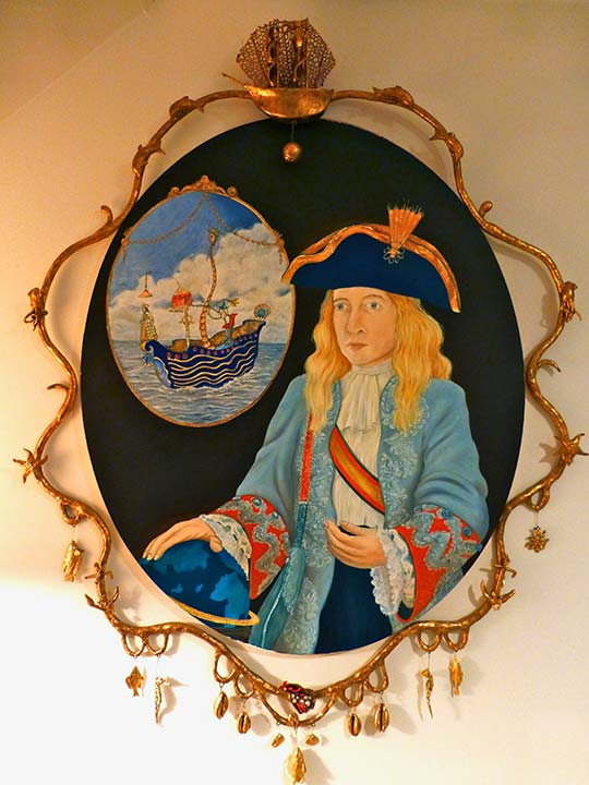 Portrait of Captain Jackson with the Magnificat, 2004